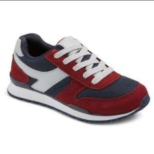 Red Navy Gray Nolan Jogger Boys Sneakers